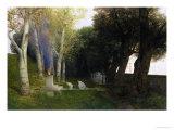 Sacred Grove, 1886 Giclee Print by Arnold Bocklin