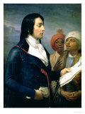 Portrait of Louis-Charles-Antoine Desaix De Veygoux (1768-1800) 1800 Giclee Print by Andrea Appiani