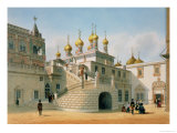 View of the Boyar Palace in the Moscow Kremlin, Printed by Lemercier, Paris, 1840s Giclee Print by Felix Benoist