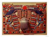 Pectoral Decorated with the Winged Scarab Protected by Isis and Nephthys Giclee Print
