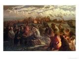 Walpurghis Night, 1862 Premium Giclee Print by Gustav Adolph Spangenberg