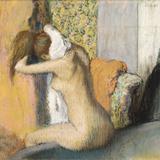 After the Bath, Woman Drying Her Neck, 1898 Giclée-Druck von Edgar Degas
