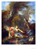 Narcissus, 1728 Giclee Print by Francois Lemoyne