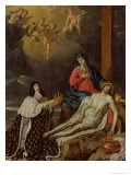 The Vow of Louis XIII (1601-43) King of France and Navarre, 1638 Giclee Print by Philippe De Champaigne