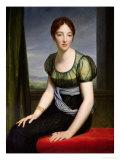 Portrait of Madame Regnault De Saint-Jean D'Angely (1775-1857) Giclee Print by Francois Gerard
