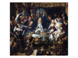 The King is Drinking Giclee Print by Jacob Jordaens