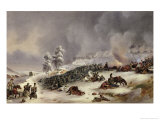 Battle of Krasnoi, 18th November 1812 Giclee Print by Jean Antoine Simeon Fort
