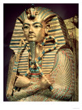 Detail of the Second Mummiform Coffin of Tutankhamun (circa 1370-52 BC) New Kingdom Giclee Print