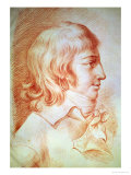 Louis-Antoine-Leon De Saint-Just (1767-94) Giclee Print by Christophe Guérin