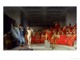 Phryne Before the Jury, 1861 Premium Giclee Print by Jean Leon Gerome