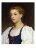 Biondina Giclee Print by Frederick Leighton