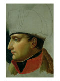 Unfinished Portrait of Napoleon I (1769-1821) 1808 Gicle-tryk af Anne-Louis Girodet de Roussy-Trioson
