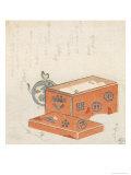The Red Chest Giclee Print by Ryuryukyo Shinsai