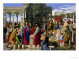 The Marriage at Cana, 1819 Premium Giclee Print by Julius Schnorr von Carolsfeld