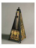Pyramidal Metronome, 1815 (Painted Iron & Gilt Bronze) Giclee Print by Johann Nepomuk Malzel