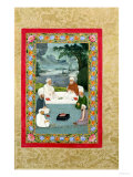 Mystical Conversation Between Sufic Sheikhs (Miniature) Giclee Print