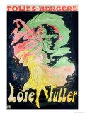 Jules Chéret - Folies Bergeres: Loie Fuller, France, 1897 - Giclee Baskı