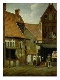 Street Scene Lámina giclée por Jacobus Vrel