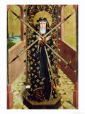 Virgin of Seven Sorrows from the Dome Altar, 1499 Giclee Print by Absolon Stumme