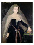 Agnes Sorel (circa 1422-50) Favourite of Charles VII (1403-61) Giclee Print