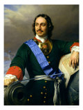 Peter I the Great (1672-1725) 1838 Giclee Print by Hippolyte Delaroche