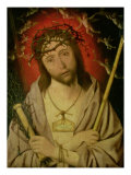 Christ as the Man of Sorrows Giclee Print by Jan Mostaert