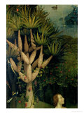 The Tree of the Knowledge of Good and Evil, Fr. the Right Panel of the Garden of Earthly Delights Impressão giclée por Hieronymus Bosch