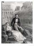 Francois Rene (1768-1848) Vicomte De Chateaubriand and Pauline De Beaumont Giclee Print by Felix Philippoteaux