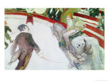 At the Circus Fernando: the Ringmaster, 1887-88 Giclee Print by Henri de Toulouse-Lautrec