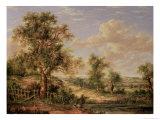Landscape Giclee Print by Patrick Nasmyth