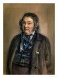 Heinrich Smidt (1798-1867) 1850 Giclee Print by Adolph von Menzel