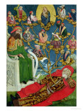 The Tree of Jesse, from the Dome Altar, 1499 Giclee Print by Absolon Stumme