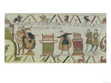 Harold Swears an Oath That He Will Accept William as King of England, from the Bayeux Tapestry Giclee Print