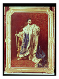 Ludwig II (1845-86) 1887 Giclee Print by Gabriel Schachinger