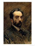 Self Portrait, 1890s Giclee Print by Isaak Ilyich Levitan