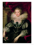 Portrait of Anne of Austria (1601-66) Infanta of Spain, Queen of France and Navarre Giclee Print by Peter Paul Rubens