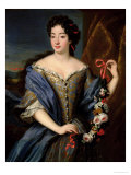 Portrait of Anne De Baviere (1648-1723) Premium Giclee Print by Pierre Gobert