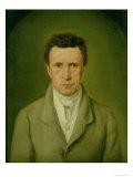Portrait of Johann Friedrich Nikolaus Oldach (1773-1849) 1824 Giclee Print by Julius Oldach