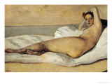 The Roman Odalisque (Marietta) 1843 Giclee Print by Jean-Baptiste-Camille Corot