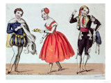 "Cherubino, Fanchette and Figaro, Scene from ""The Marriage of Figaro"", Giclee Print"