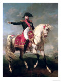 Equestrian Portrait of Napoleon I (1769-1821) 1810 Giclee Print by Joseph Chabord