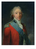 Charles of France (1757-1836), Count of Artois, Future Charles X King of France and Navarre Giclee Print by Henri-Pierre Danloux