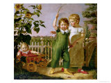 The Hulsenbeck Children, 1806 Giclee Print by Philipp Otto Runge