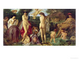 The Judgement of Paris, 1870 Giclee Print by Anselm Feuerbach