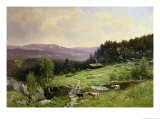 Telemark, South Norway Premium Giclee Print by Ludvig Skramstad