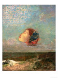 Homage to Goya, circa 1895 Giclee Print by Odilon Redon