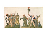 Cry of Liberty and the Departure for the Frontier, 1792 Giclee Print by Le Sueur Brothers