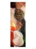 Goldfish, 1901-02 Reproduction procédé giclée par Gustav Klimt
