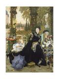 The Widow, 1868 Reproduction procédé giclée par James Tissot