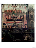 Right Hand Side of Diptych Showing the Parliament of James I of England, VI of Scotland Giclee Print